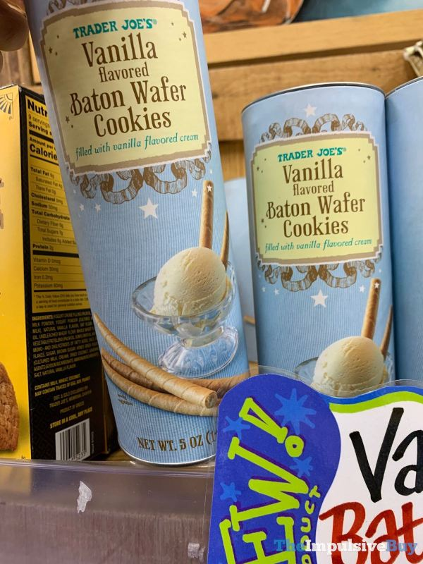 Trader Joe s Vanilla Baton Wafer Cookies