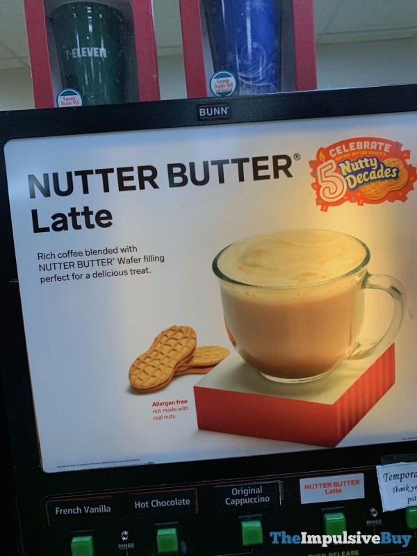 7 Eleven Nutter Butter Latte