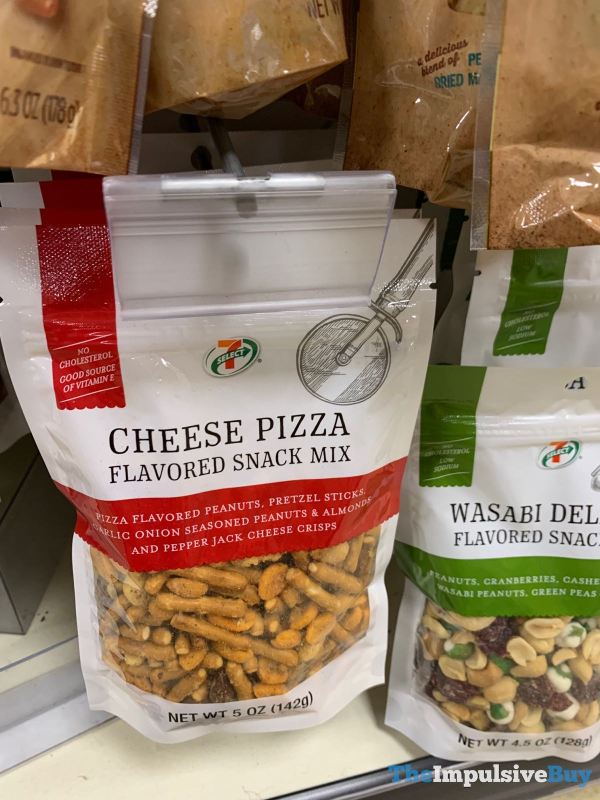 7 Select Cheese Pizza Flavored snack Mix