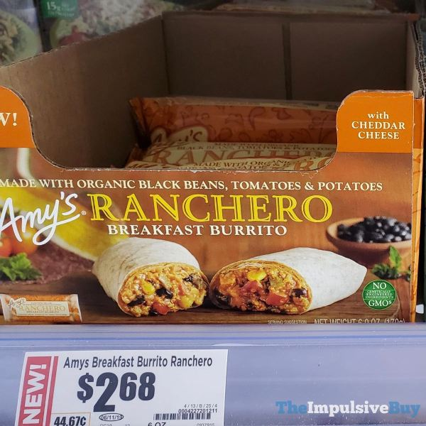 Amy s Ranchero Breakfast Burrito
