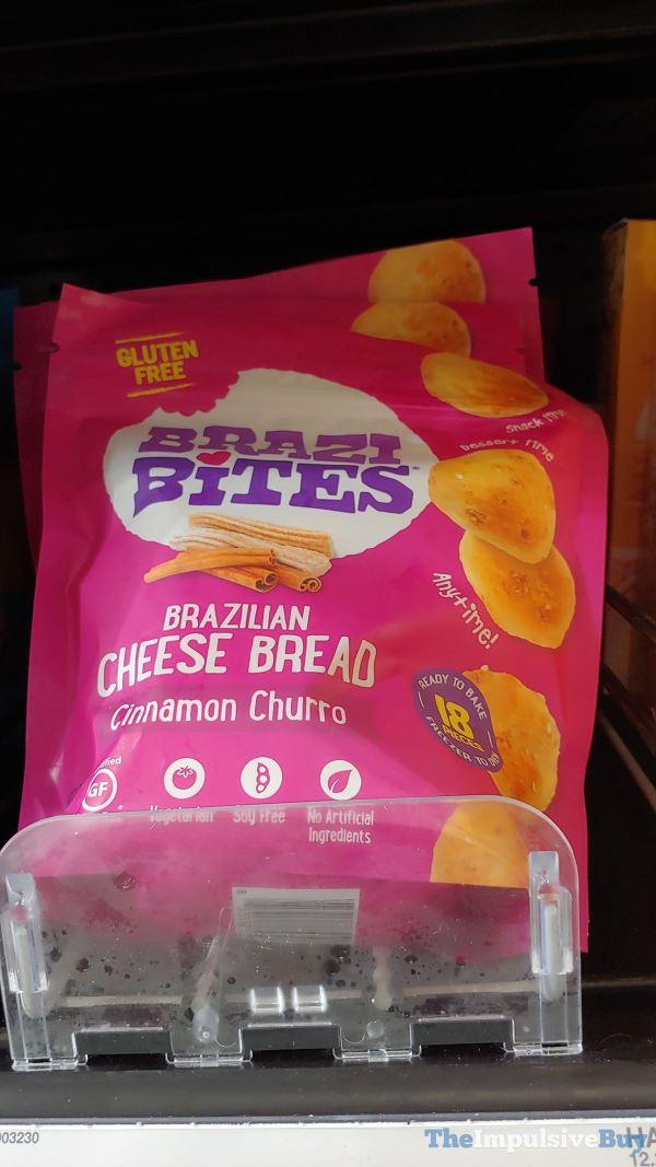 Brazi Bites Cinnamon Churro Brazilian Cheese Bread