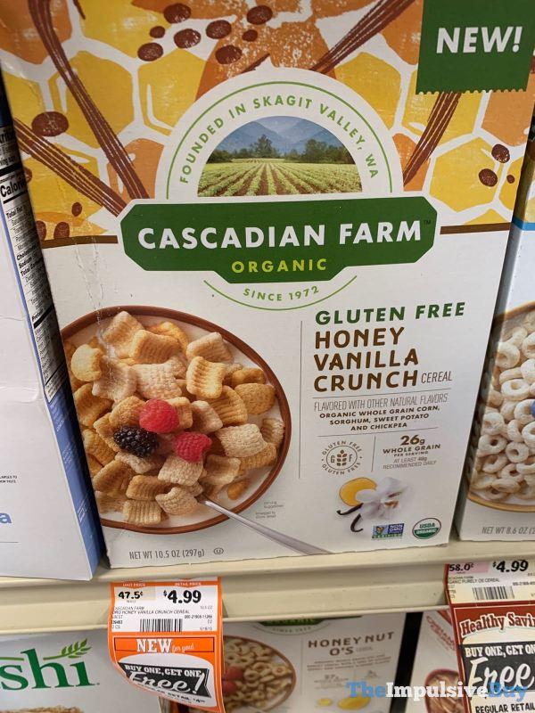Cascadian Farm Gluten Free Honey Vanilla Crunch Cereal