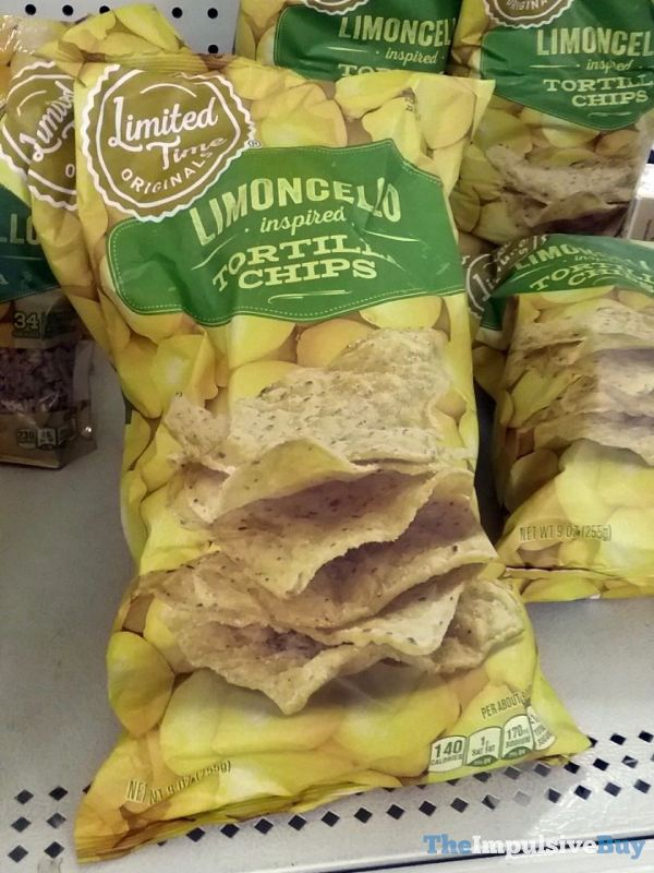 Giant Limited Time Originals Limoncello Inspired Tortilla Chips