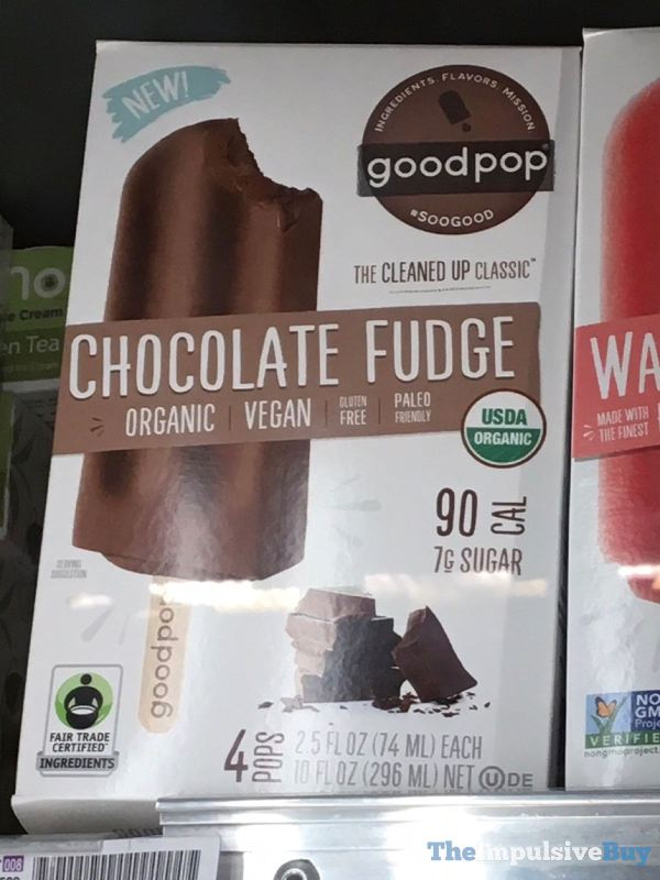 Good Pop Chocolate Fudge Bars