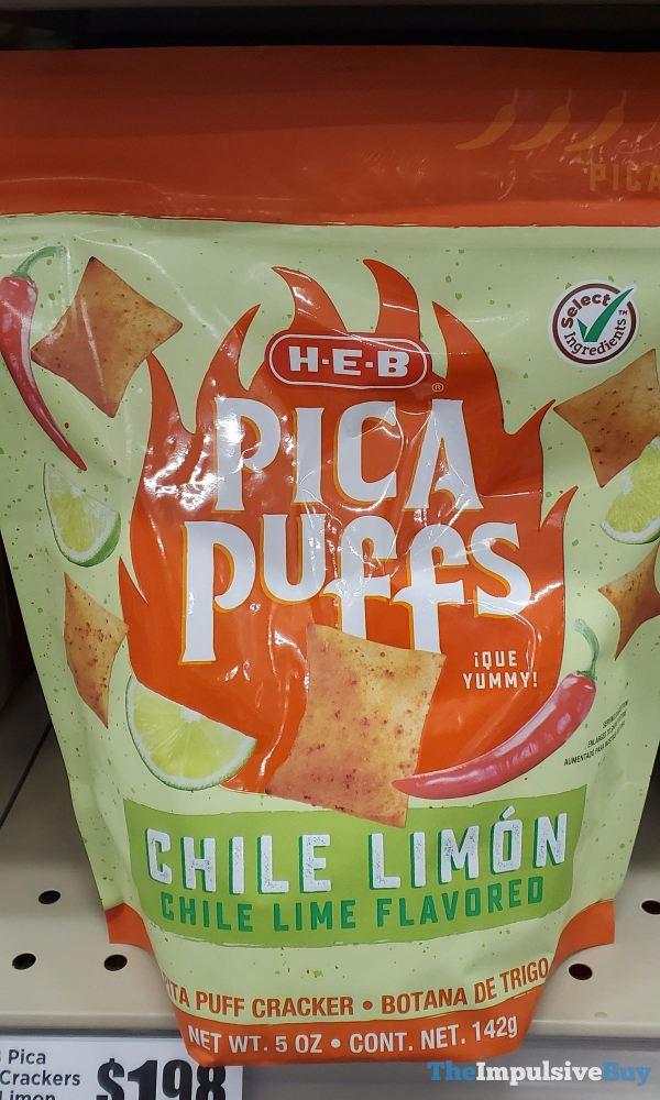 H E B Chile Limon Pica Puffs