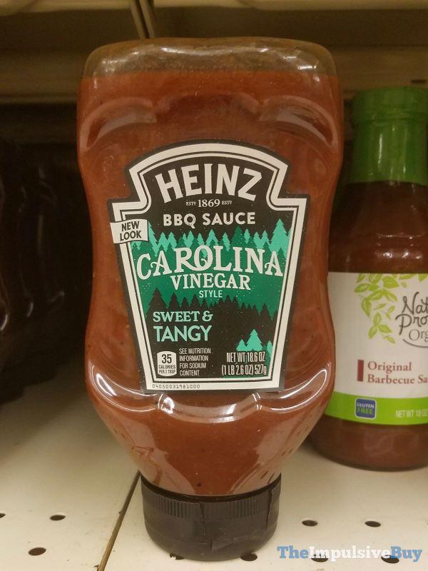 Heinz Carolina Vinegar BBQ Sauce