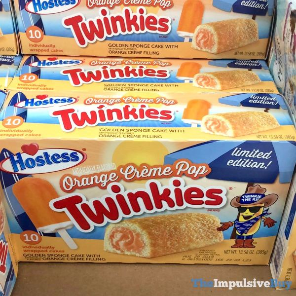 Hostess Limited Edition Orange Creme Pop Twinkies