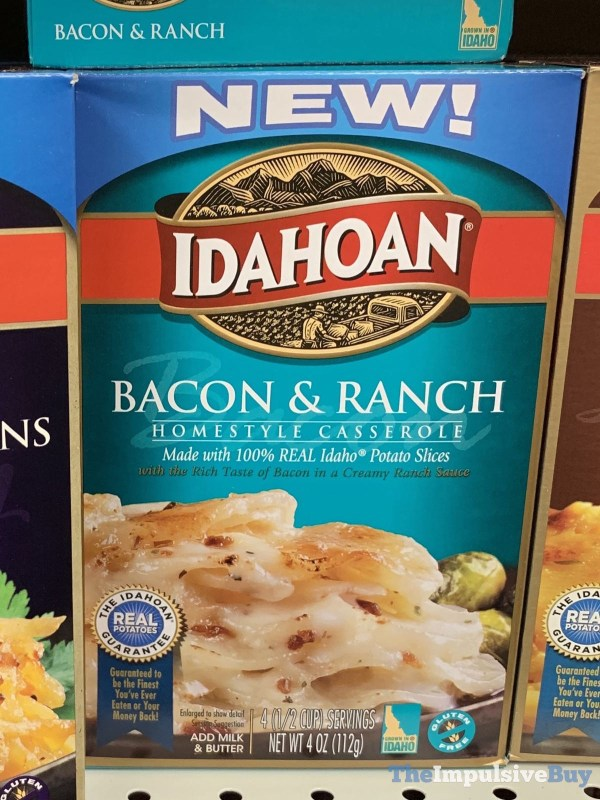 Idahoan Bacon  Ranch Homestyle Casserole