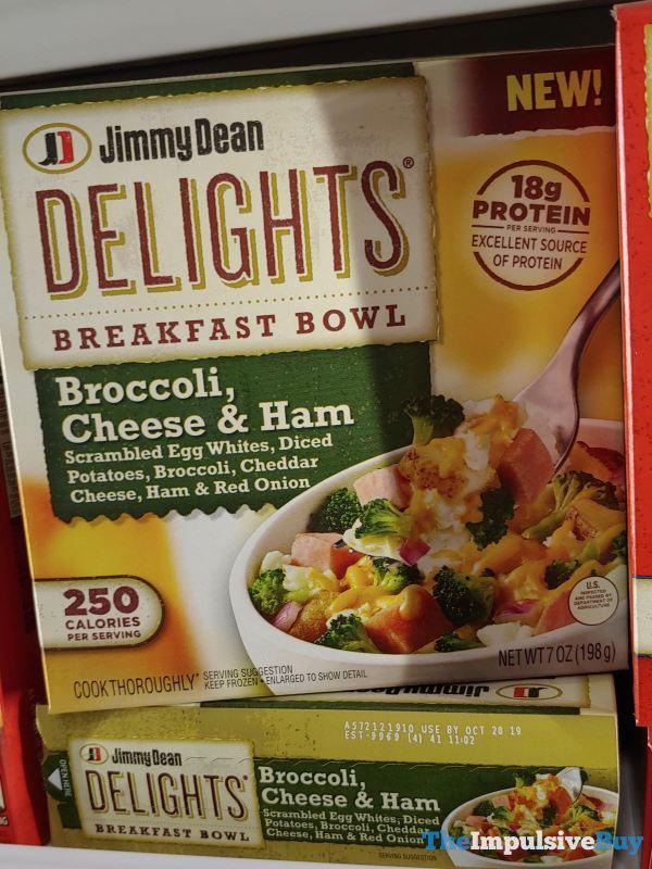 Jimmy Dean Delights Broccoli Cheese  Ham Breakfast Bowl