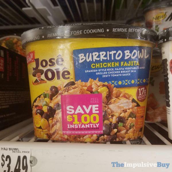 Jose Ole Chicken Fajita Burrito Bowl