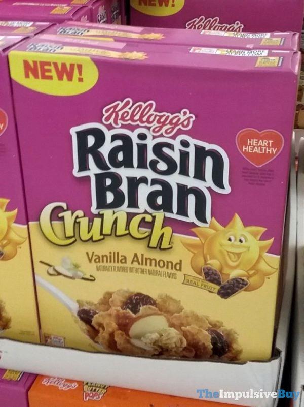 Kellogg s Raisin Bran Crunch Vanilla Almond Cereal
