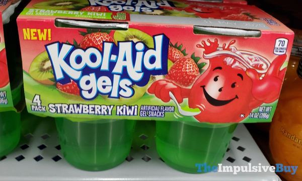 Kool Aid Gels Strawberry Kiwi