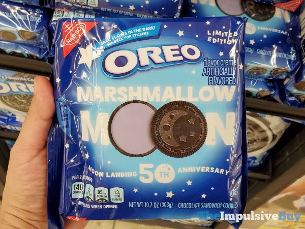 Limited Edition Marshmallow Moon Oreo Cookies