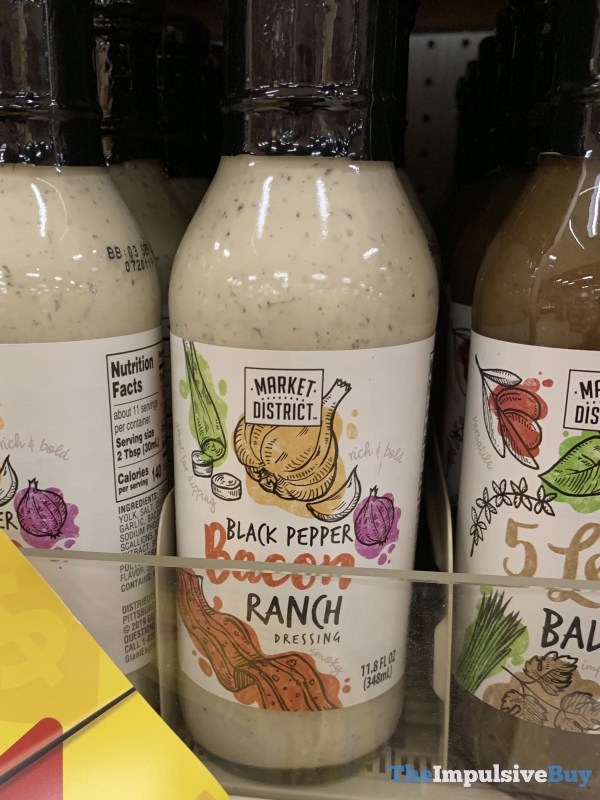 Market District Black Pepper Bacon Ranch Dressing