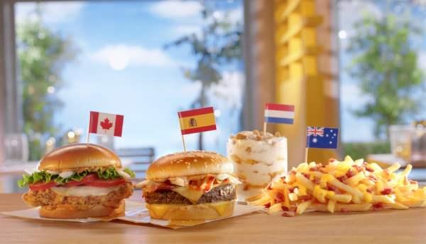 McDonald s Worldwide Favorites Menu