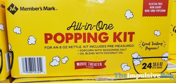 Member s Mark All in One Popping Kit
