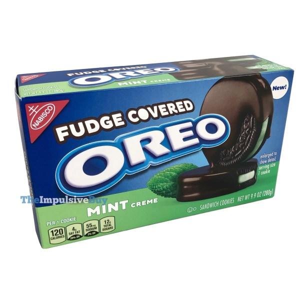 Mint Creme Fudge Covered Oreo Cookies
