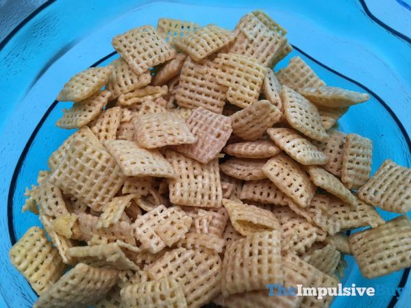 Peanut Butter Chex Cereal Closeup