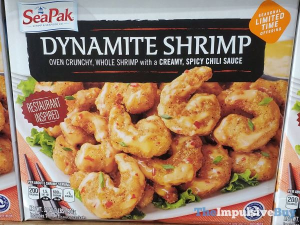 SeaPak Seasonal Limited Time Offering Dynamite Shrimp