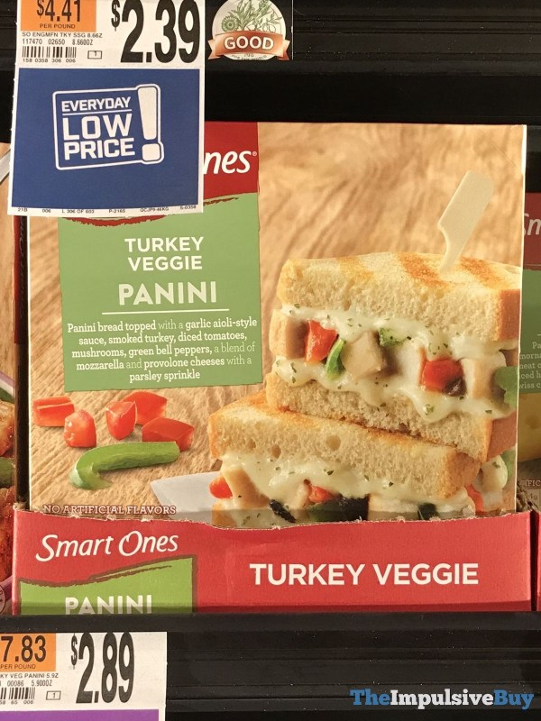 Smart Ones Turkey Veggie Panini