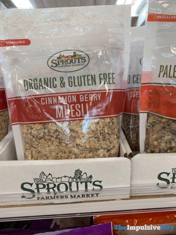 Sprouts Organic  Gluten Free Cinnamon Berry Muesli