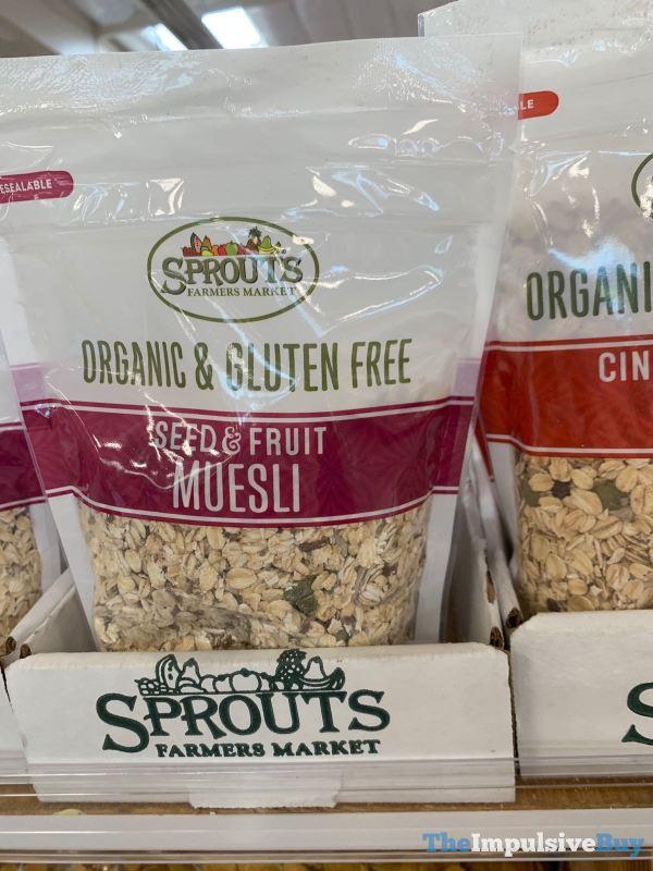 Sprouts Organic  Gluten Free Seed  Fruit Muesli