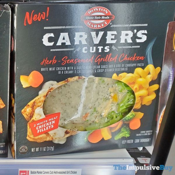Boston Market Carver s Cuts Herb Seasoned Grilled Chicken  Version 3