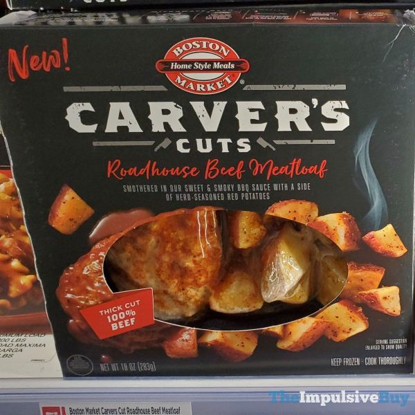 Boston Market Carver s Cuts Roadhouse Beef Meatloaf