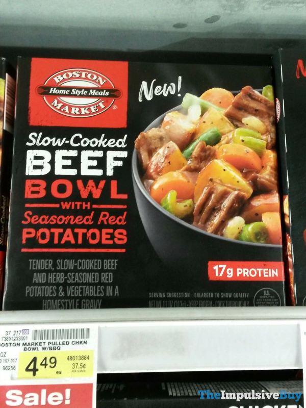 Boston Market Slow Cooked Beef Bowl with Seasoned Red Potatoes