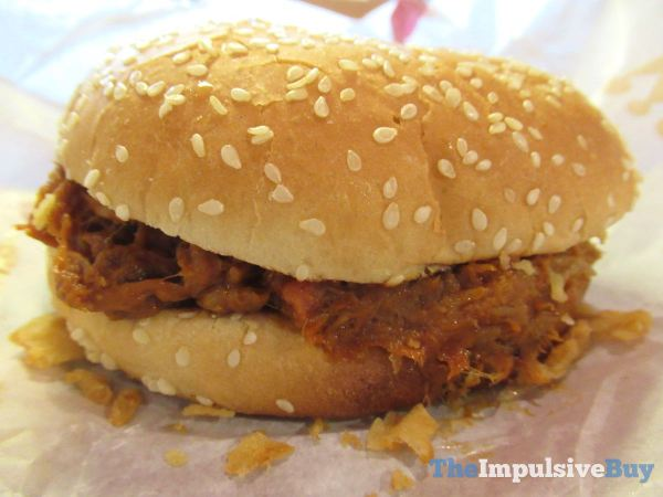 Burger King Pulled Pork King