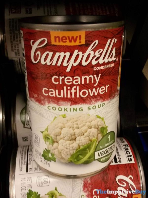 Campbell s Condensed Creamy Cauliflower Cooking Soup