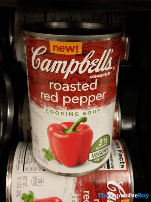 Campbell s Condensed Roasted Red Pepper Cooking Soup