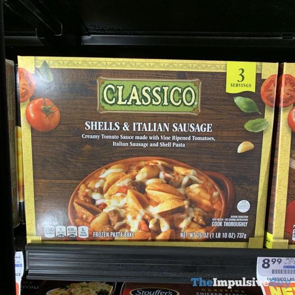 Classico Shells  Italian Sausage