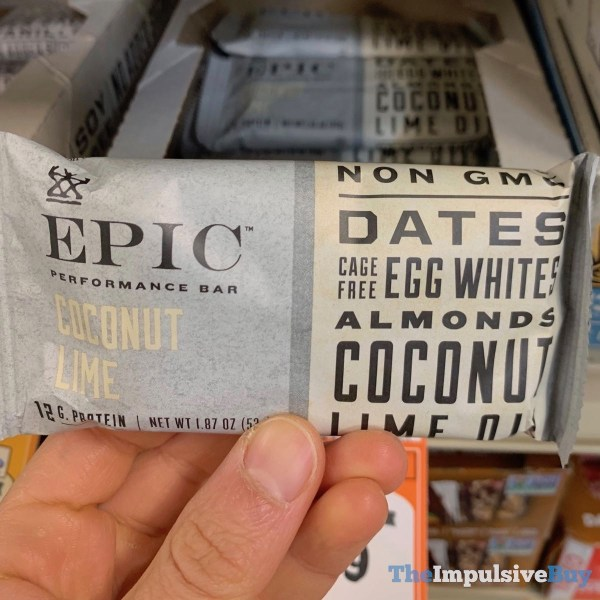 Epic Coconut Lime Performance Bar