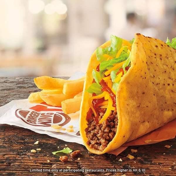 FFN Burger King Crispy Tacos
