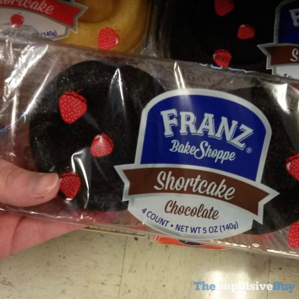 Franz Bake Shoppe Chocolate Shortcake
