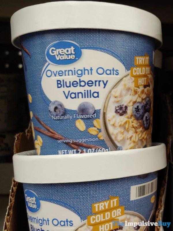 Great Value Blueberry Vanilla Overnight Oats