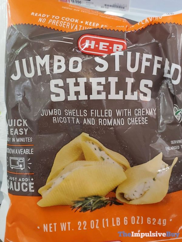 H E B Jumbo Stuffed Shells