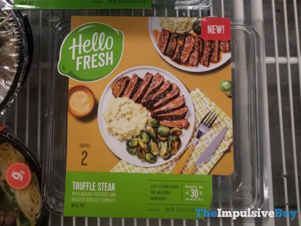 Hello Fresh Honey Truffle Steak