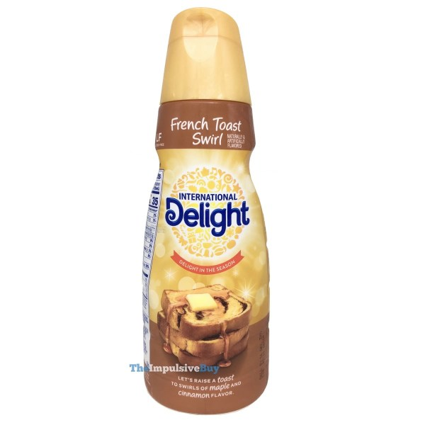 International Delight French Toast Swirl Creamer