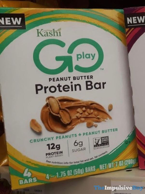 Kashi Go Play Peanut Butter Protein Bars
