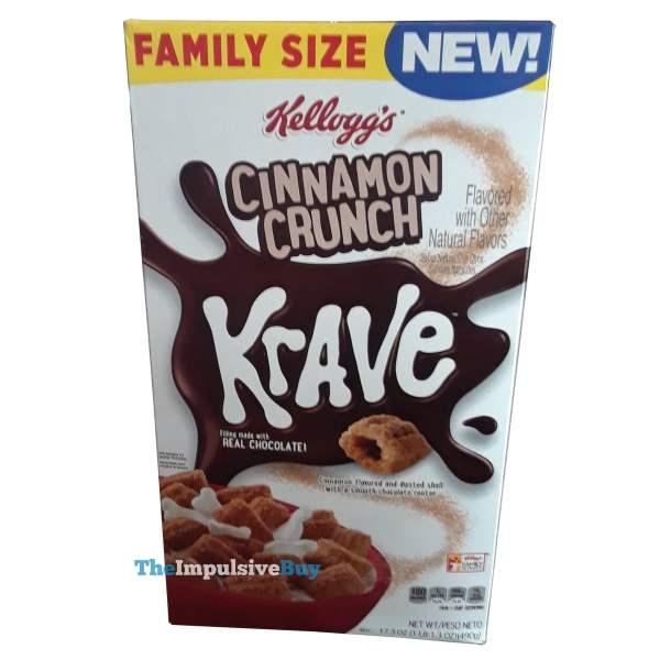 Kellogg s Cinnamon Crunch Krave Cereal