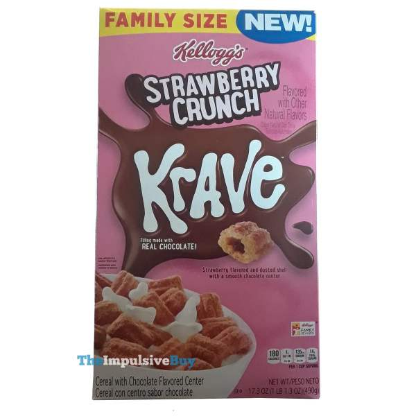 Kellogg s Strawberry Crunch Krave Cereal