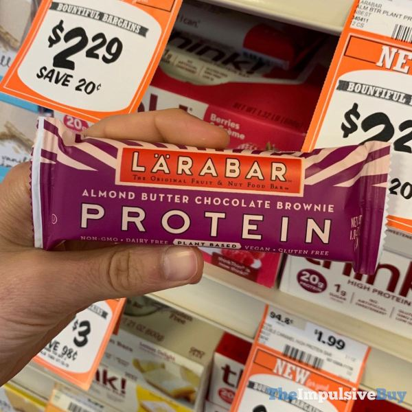 Larabar Protein Almond Butter Chocolate Brownie Bar