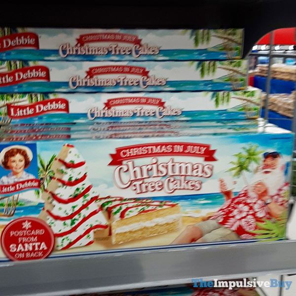 Little Debbie Christmas in July Christmas Tree Cakes
