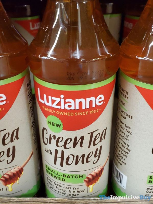 Luzianne Small Batch Brewed Green Tea with Honey