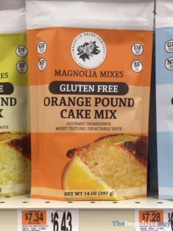 Magnolia Bread Company Gluten Free Orange Pound Cake Mix