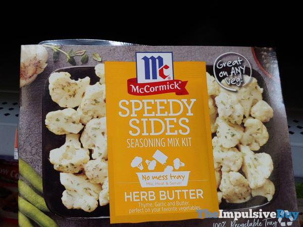 McCormick Herb Butter Speedy Sides Seasoning Mix Kit