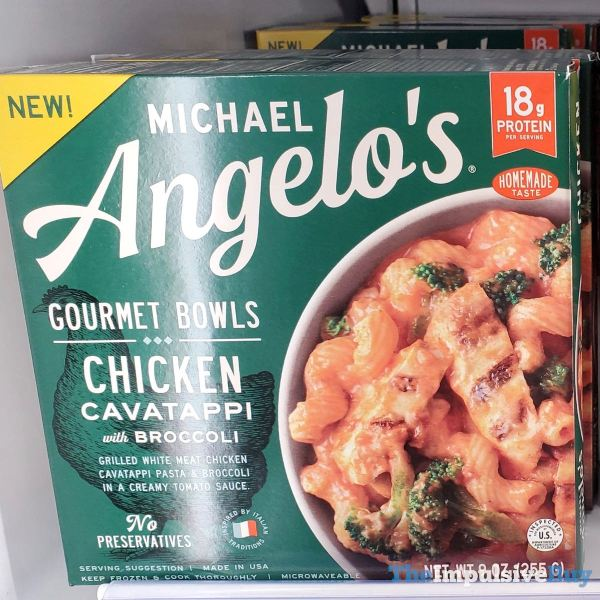 Michael Angelo s Gourmet Bowls Chicken Cavatappi
