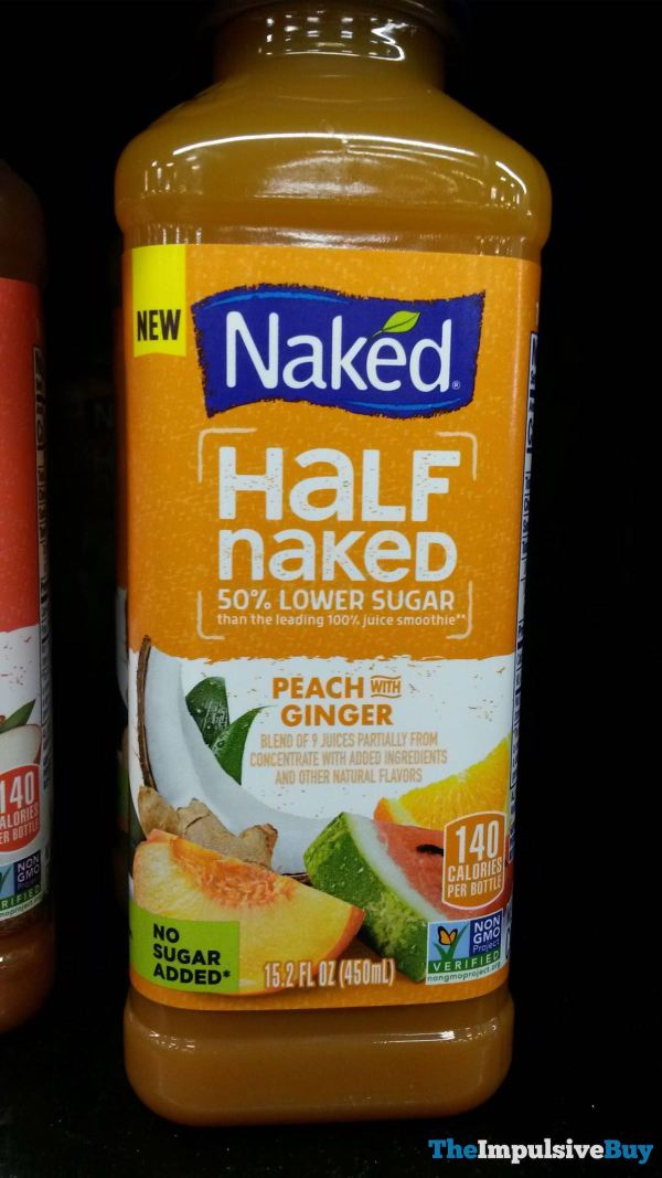 Naked Half Naked Peach with Ginger